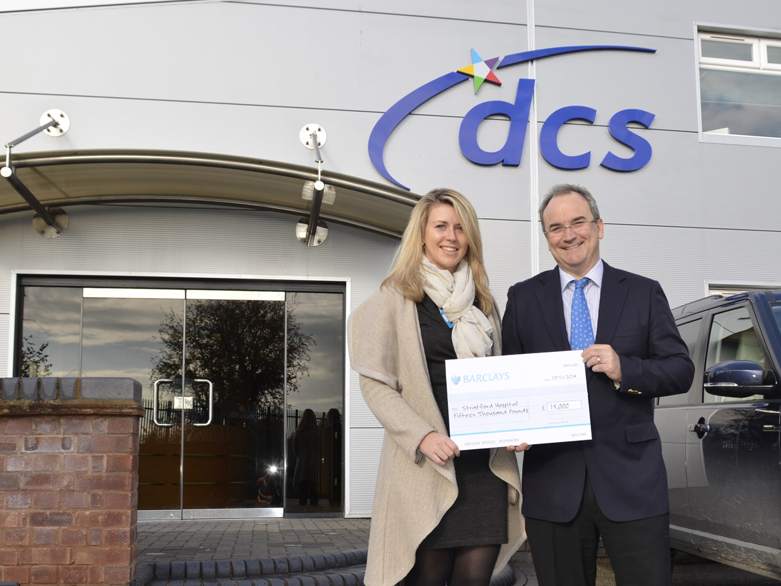 News Image for DCS Group donate £15,000 towards the new Stratford Cancer and Eye Hospital.