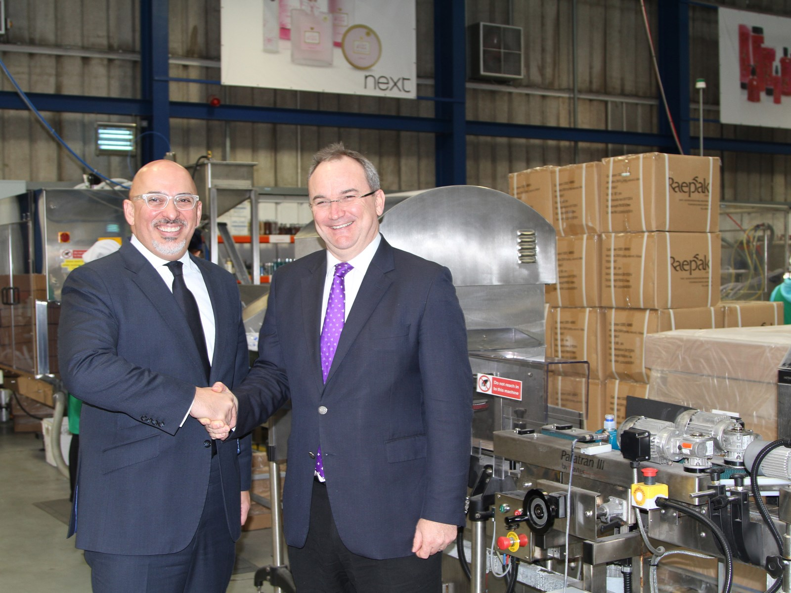 News Image for DCS Manufacturing celebrates a record £10m sales achieved in 2014 and a £250,000 investment.